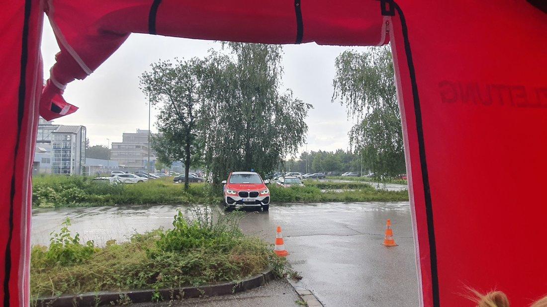 Evakuierungszone Augsburg
