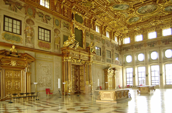 goldener saal - stadt augsburg, Innenarchitektur ideen