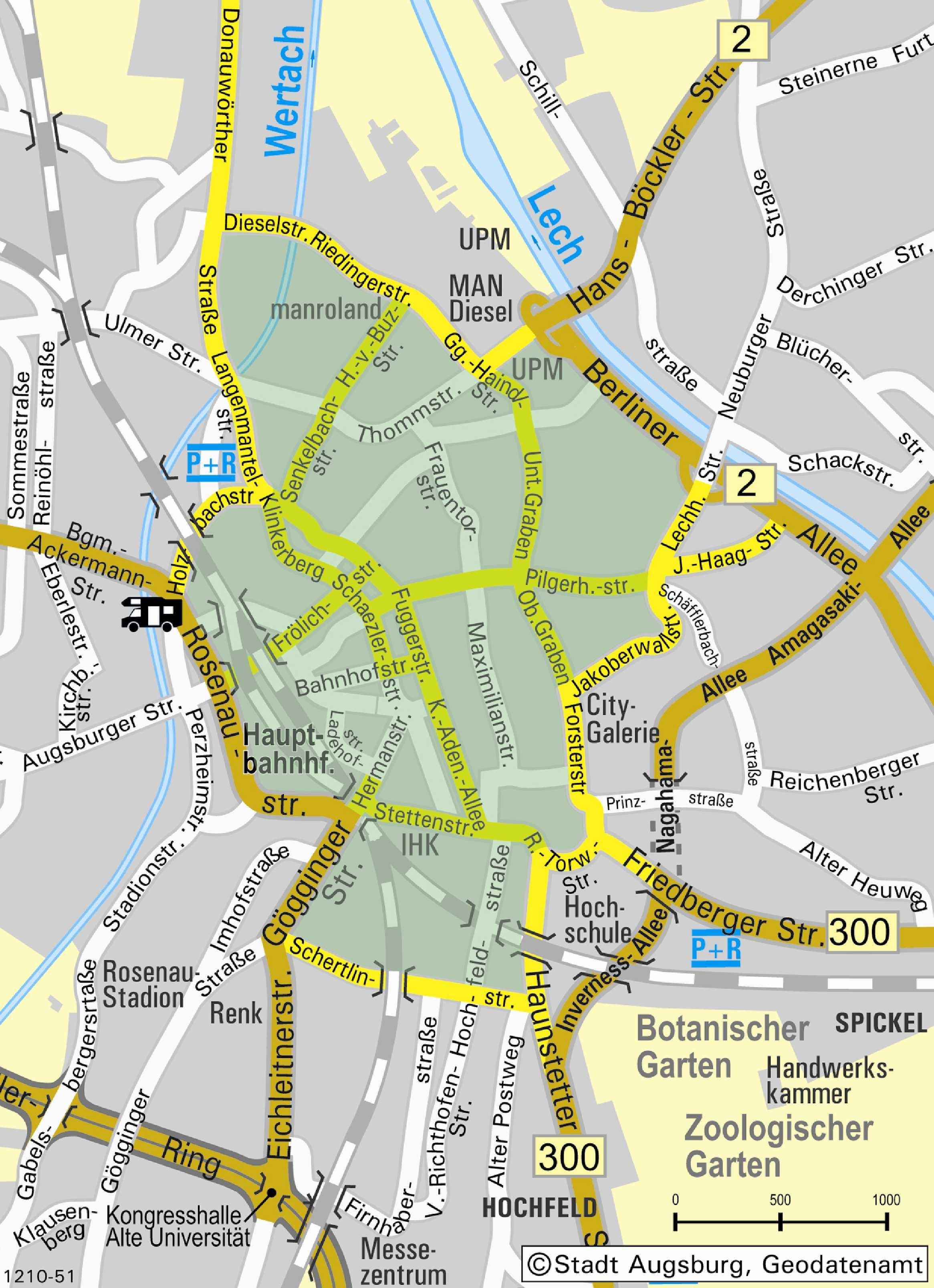 Umweltzone München Karte.Umweltzone Stadt Augsburg